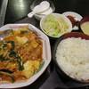 Soushou - 料理写真:豚肉とキムチ豆腐定500円