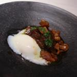 かわ村 - メイン 飛騨牛ホホ肉のマデラ煮込み ポルチーニ茸のソース☆