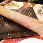 ガネーシュ - 2014年のクリスマスディナー(4800円)の黒米のドーサ(4人前)