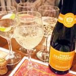 ガネーシュ - スパークリングワイン白(1750円)