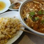 33764775 - スーラー刀削麺セット