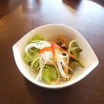 ます家 - 料理写真:セットのサラダ