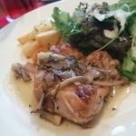 blume*PATISSERIE&TRATTORIA - 淡路鶏とキノコのカチャトーラ