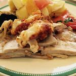 33768019 - 旭川の豚肉は美味しい!豚ロースのロースト、温製ヴィネグレットソース添え。