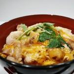 蕎麦 魯庵 - 炙り親子丼