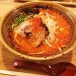 味噌乃家 - 辛味噌ラーメン(680円)