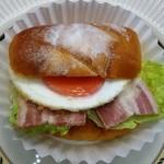 フランディール - ベーコンエッグバーガー210円