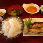 3377967 - ランチ さわら西京焼き定食 750円