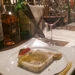 BAR E - パテ・ド・カンパーニュとお隣さんの赤ワイン