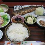 たつの子 - さわら西京焼定食(\750)