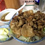 まんぷく食堂 - 焼肉丼 650円