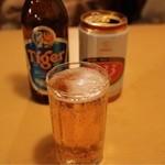 サイゴン・レストラン - 333(500円)とタイガービール(600円)