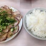 33773584 - 焼き豚500円&めし!!