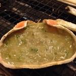 33773754 - 蟹味噌甲羅焼き499円