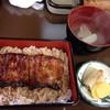 鰻富士 - 料理写真:ランチの鰻重@1300円
