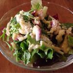 マムーニア - ランチのサラダ