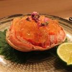 赤坂 津やま - 香箱蟹 土佐酢ジュレ