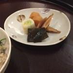 日本料理 太月 - 香の物 2014-12