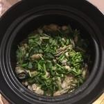 日本料理 太月 - 御食事 牡蠣御飯 2014-12