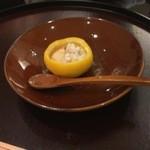 日本料理 太月 - 強肴 雲子柚子釜 茶碗蒸し2014-12
