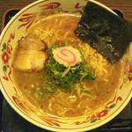 らーめん居酒屋風火山 - 風火山素ラーメン    630円