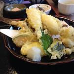 Keinohamanosato - 赤カレイのてんぷら!骨まで食べれます(^^)