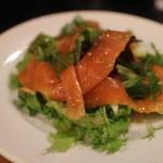 ツイテル - スモークサーモンのサラダ