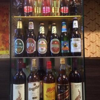 アジア料理にはアジアのお酒がおすすめ◎
