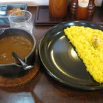 キートン - サフランライスに壷焼のカレーがマッチしてます。