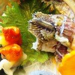 広起 - 夜鳴き貝、蝦蛄