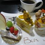 ボンクール - H26.10フルーツタルト・かぼちゃシフォン・かぼちゃのパルフェ