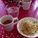 カマナ - サラダとスープ♡