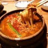 とり田 - 料理写真:2016年1月限定スパイス薫る鍋焼きカレーうどん