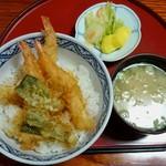 幸亭 - エビ天丼