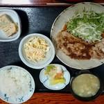 幸亭 - 庄内豚生姜焼き定食