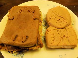 ベーカリー&カフェ ふぁんふぁーれ - 鬼太郎とぬりかべ