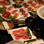 近江牛と地元野菜 ダイニングMOO - 近江牛づくし6品