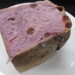 きりん屋 - 紫芋とレーズンの食パン