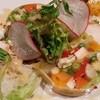ビストロ・ラ・ショウブ - 料理写真:岩手清流鶏の燻製と彩り野菜のテリーヌ