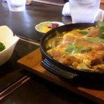 鳥料理 ゆふ - かつ鍋定食