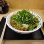 かつや - ねぎタップリ 味噌カツ丼(2014/12)
