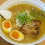 らーめん 孫子 - 鶏白湯(醤油) 2014.12.27