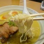らーめん 孫子 - ストレート麺 2014.12.27
