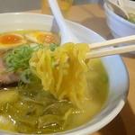 らーめん 孫子 - ちぢれ麺   2014.12.27