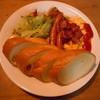 おじいさんの古時計 - 料理写真:アメリカンサンドイッチ♪