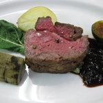 ル・ビストロ クー ドポール - 牛フィレ肉のロースト