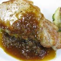 ル・ビストロ クー ドポール - もち豚ロース肉のポワレ