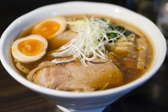 麺や豊 - 特製中華そば(大盛り)990円