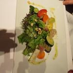 ラ・メール・プラール - 野菜のマリネサラダ