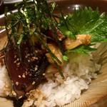 ウラニワ - 〆のりゅうきゅう丼